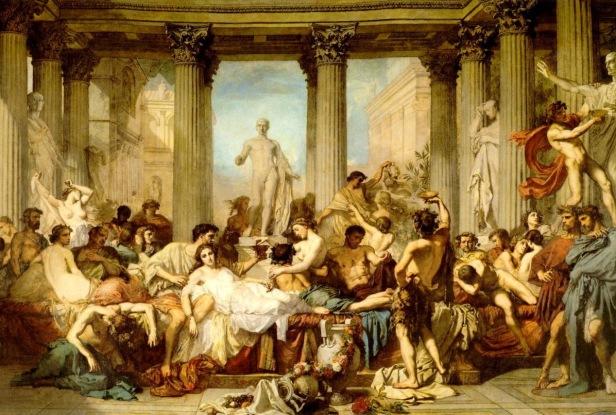 Fiestas Saturnalias ¡Io Saturnalia!