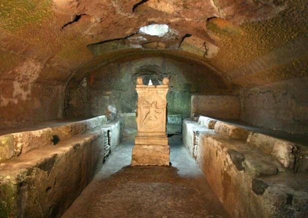 Mitreo en la Basílica de San Clemente Romano