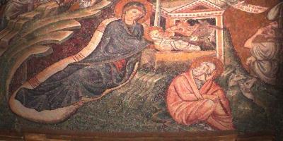 Mosaico de la Navidad, Basílica Santa María la Mayor