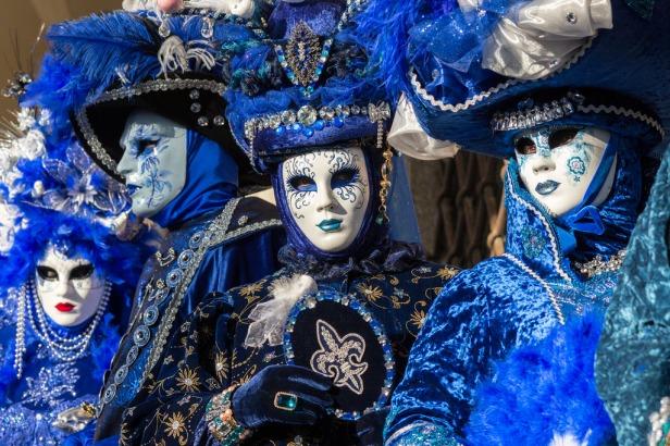 Máscaras Carnaval de Venecia