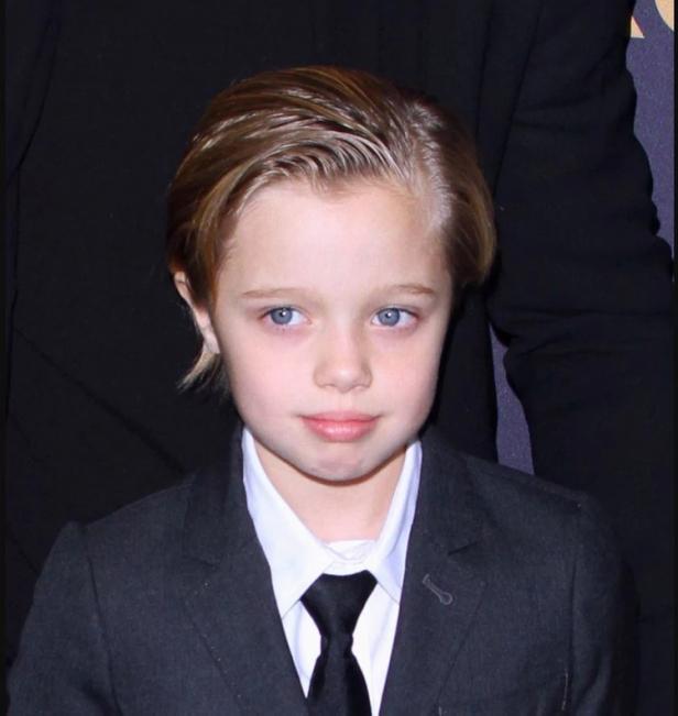Shiloh hija/o de Angelina Jolie y Brad Pitt que inició su tratamiento hormonal para ser niño