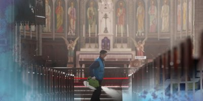 Iglesia coreana esterilizada